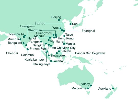 Asia and Oceania Mitsui Sumitomo Insurance