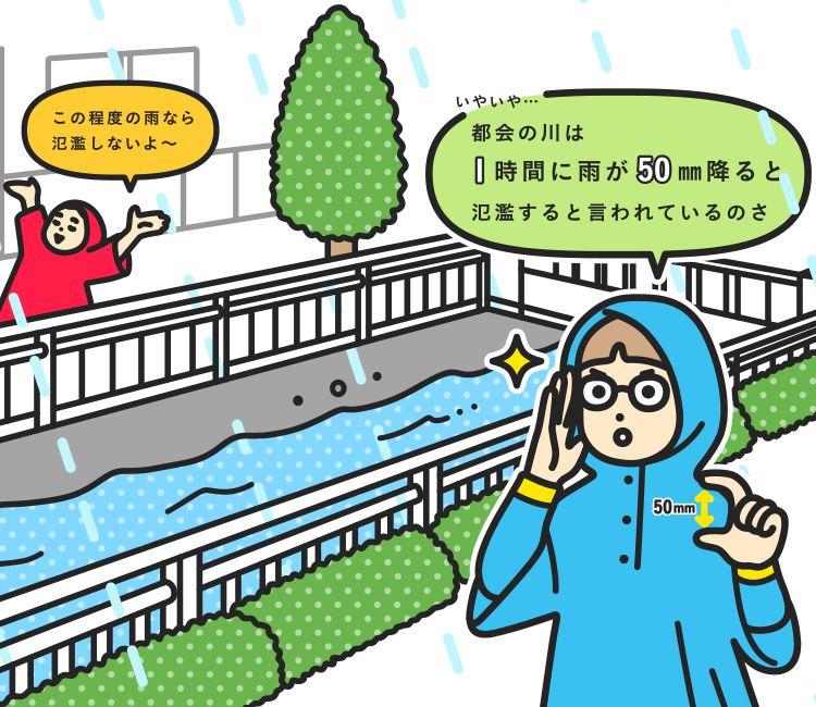 備え 大雨